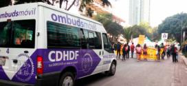 Galería: CDHCM acompaña marcha #4aMovilizaciónGlobalxelClima