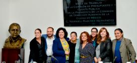 CDHCMpresenta ante Congreso Local proyecto de presupuesto para 2020