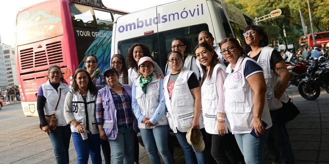 Galería: CDHCM acompañó marcha #25N convocada por colectivas feministas