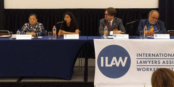 CDHCM participa en Congreso de la Red ILAW que se desarrolla en la Ciudad de México