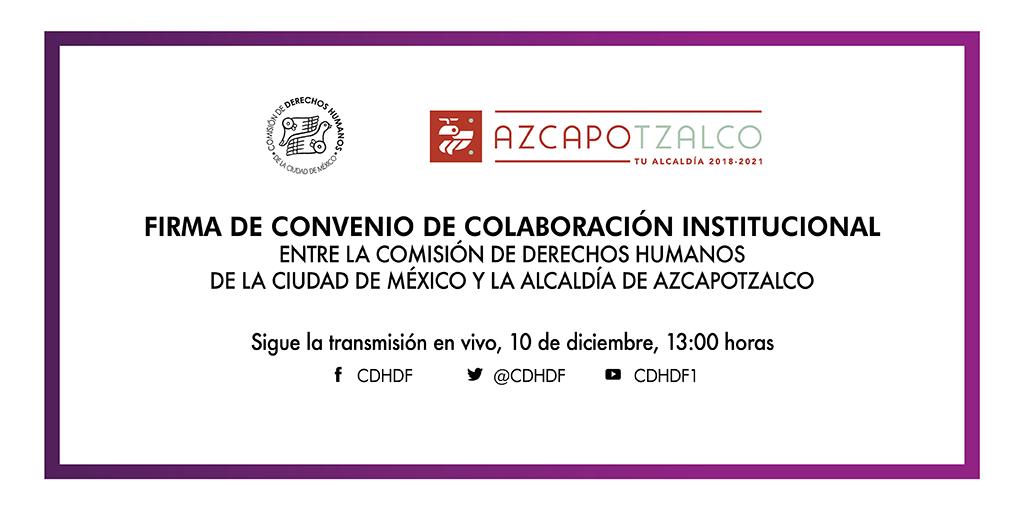 Inauguración de la Delegación de este Organismo en la Alcaldía Azcapotzalco