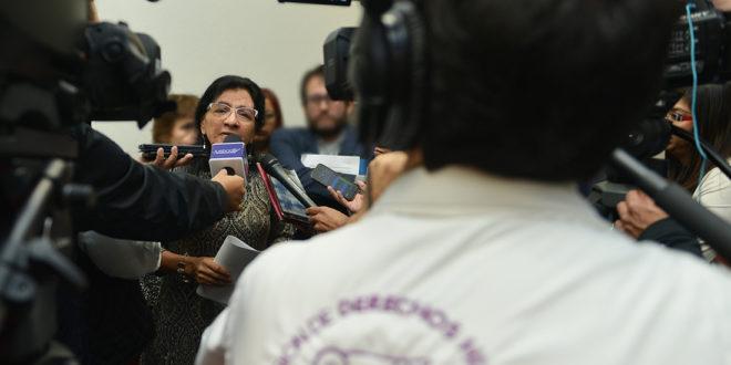 Entrevista a la Presidenta de la CDHCM, Nashieli Ramírez Hernández, luego de la presentación de la Recomendación 19/2019.