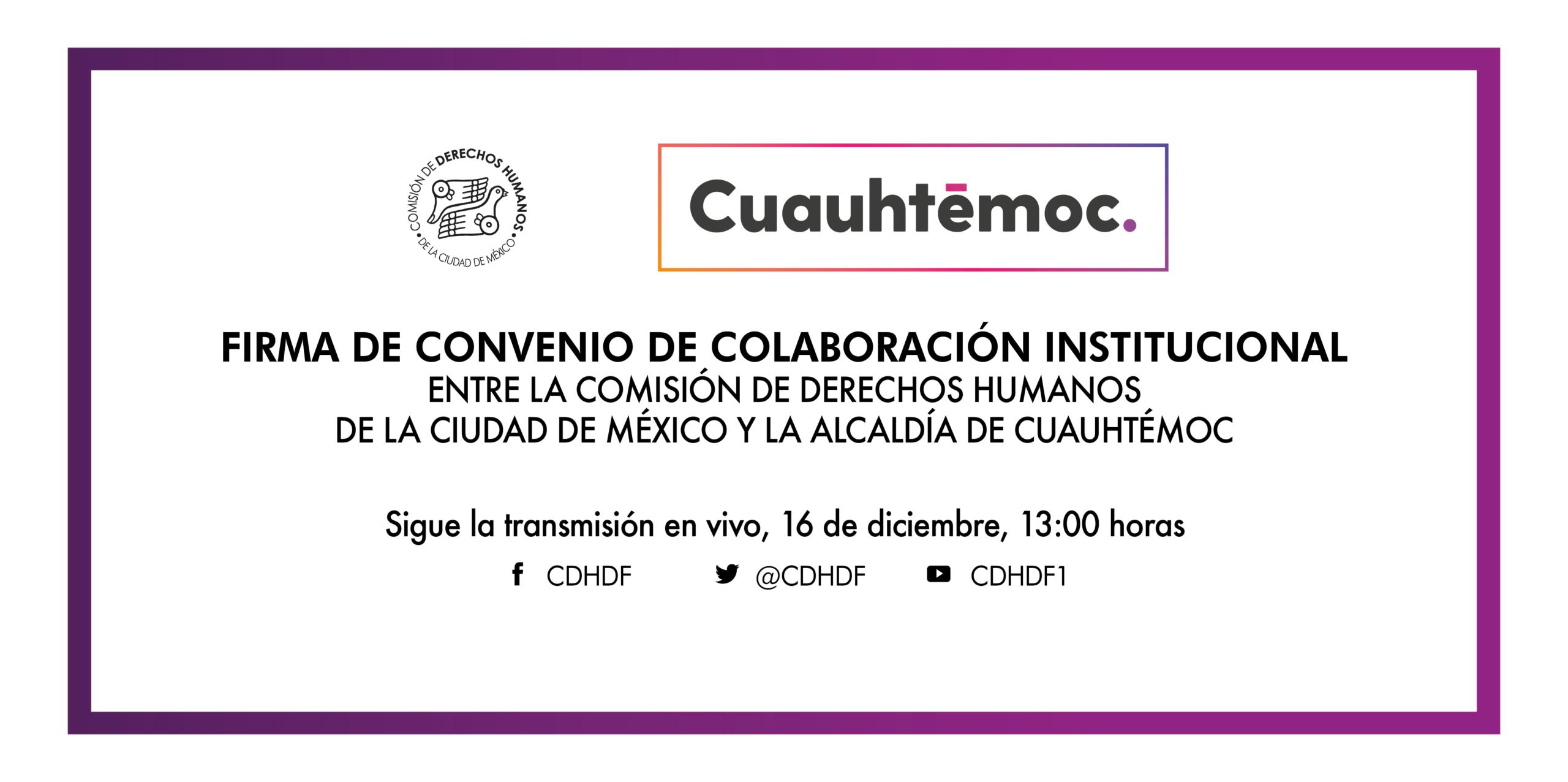 Inauguración de la Delegación de este Organismo en la Alcaldía Cuauhtémoc @ Av. Universidad 1449, colonia Pueblo Axotla, Alcaldía Álvaro Obregón, Ciudad de México