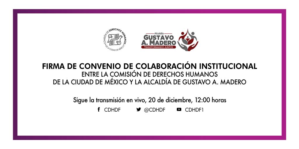 Inauguración de Delegación de CDHCM en GAM