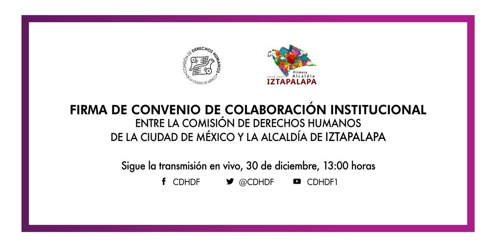Inauguración de la Delegación de este Organismo en la Alcaldía Iztapalapa