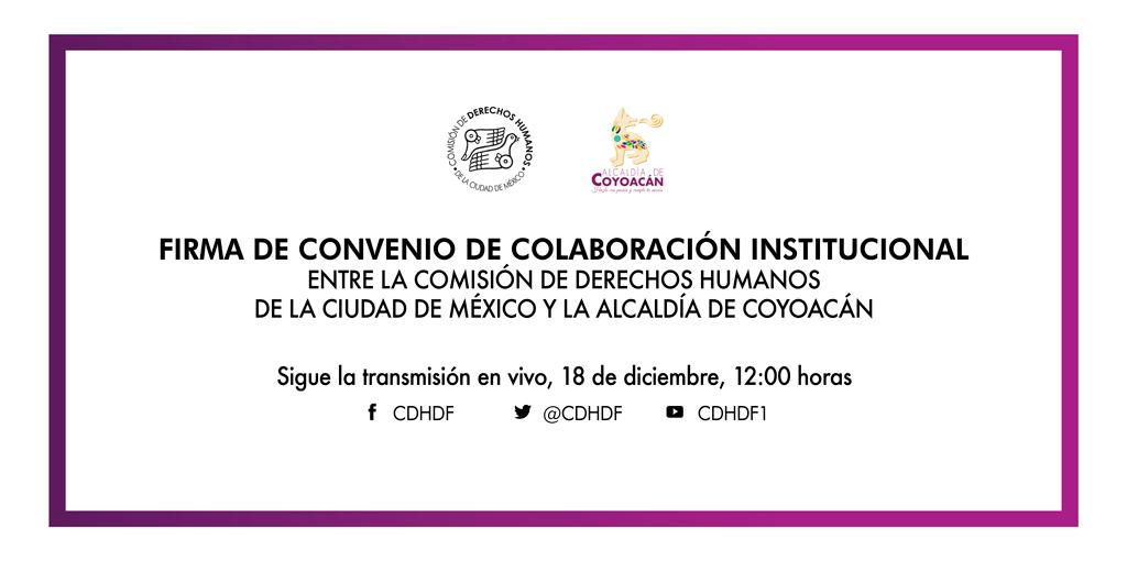 Inauguración de la Delegación de este Organismo en la Alcaldía Coyoacán