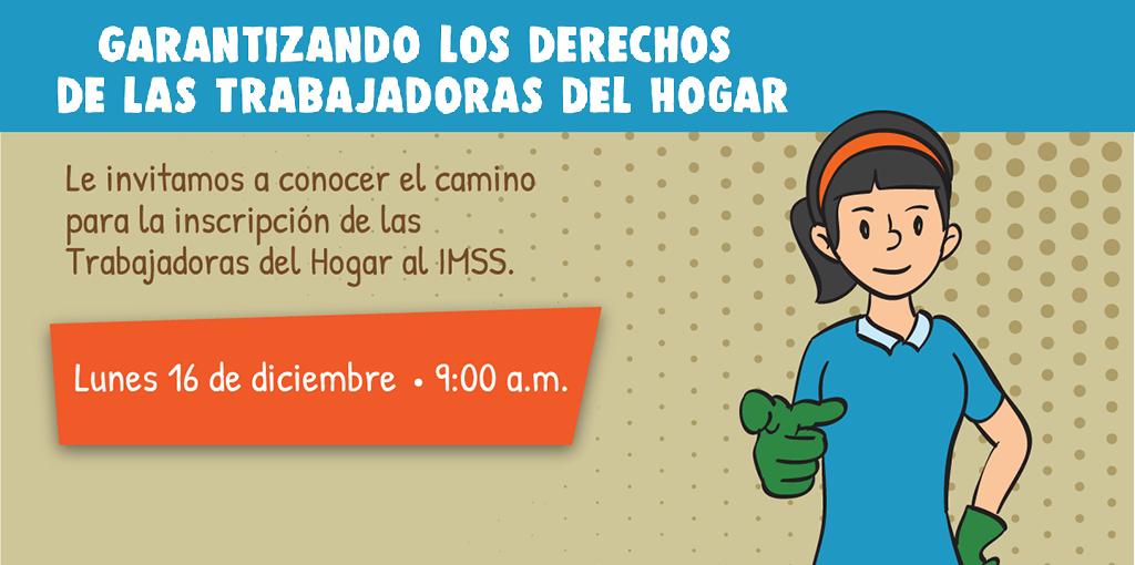Rueda de Prensa Garantizando los Derechos de las Trabajadoras del Hogar @ Av. Universidad 1449 colonia Pueblo Axotla, Alcaldía Álvaro Obregón
