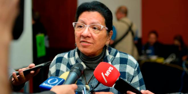 Entrevista a la Presidenta de la CDHCM, Nashieli Ramírez, en la inauguración de las Mesas de Deliberación sobre los Resultados de la Consulta Infantil y Juvenil 2018. Hacia la Construcción de una Agenda para su Atención.