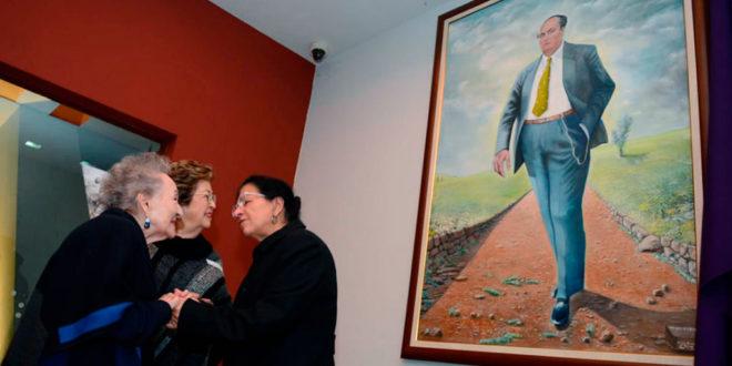 Galería: Develación de cuadro de Gilberto Bosques en CDHCM