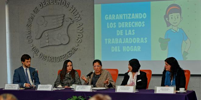 La Comisión de Derechos Humanos celebra y se prepara para hacer valer las modificaciones constitucionales y la ratificación del Convenio 189, en favor de los derechos de las y los trabajadores del hogar