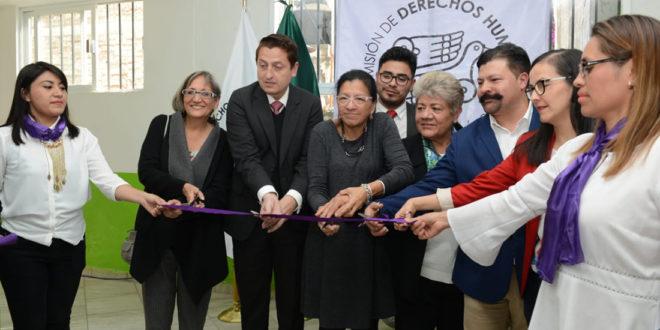 CDHCM inaugura en Cuauhtémoc su séptima Delegación