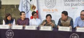 Palabras de la Presidenta de la CDHCM, Nashieli Ramírez Hernández, al inaugurar la Delegación de este Organismo en la Alcaldía de Milpa Alta.