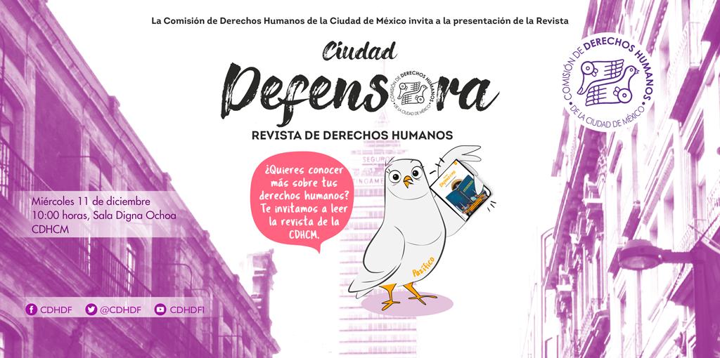 """Presentación de revista """"Ciudad Defensora"""" @ Av. Universidad 1449, colonia Pueblo Axotla, Alcaldía Álvaro Obregón, Ciudad de México"""