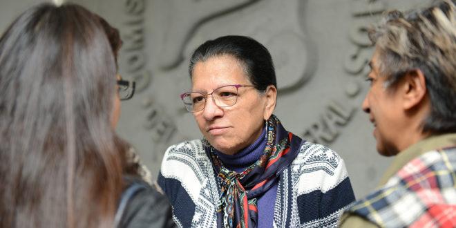 Entrevista a la Presidenta de la CDHCM, Nashieli Ramírez Hernández, en la Firma de Convenio Marco de Colaboración con la Institución Nacional de Derechos Humanos y Defensoría del Pueblo de Uruguay.