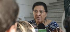 Entrevista a Presidenta de la CDHCM, Nashieli Ramírez Hernández, en la Firma de Convenio Marco de Colaboración con el Congreso de la Ciudad de México.