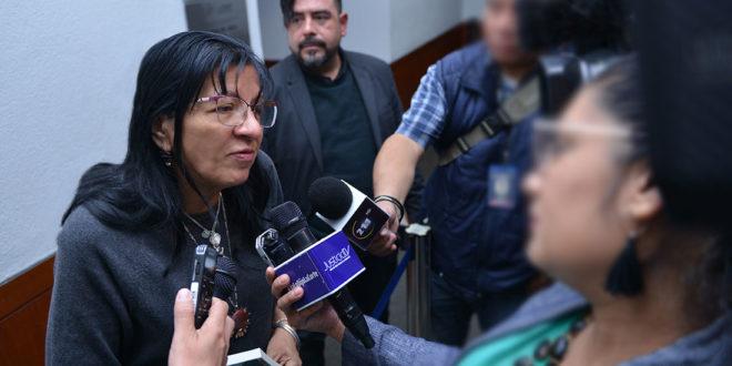 Entrevista a la Presidenta de la CDHCM, Nashieli Ramírez, en el Foro Tercer Aniversario de la Constitución Política de la Ciudad de México. Reflexiones en torno al nuevo diseño institucional para la garantía de los Derechos Humanos.