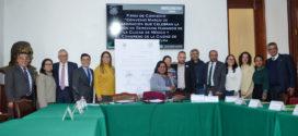 La CDHCM capacitará a equipos de trabajo del Congreso capitalino, a través de Firma de Convenio