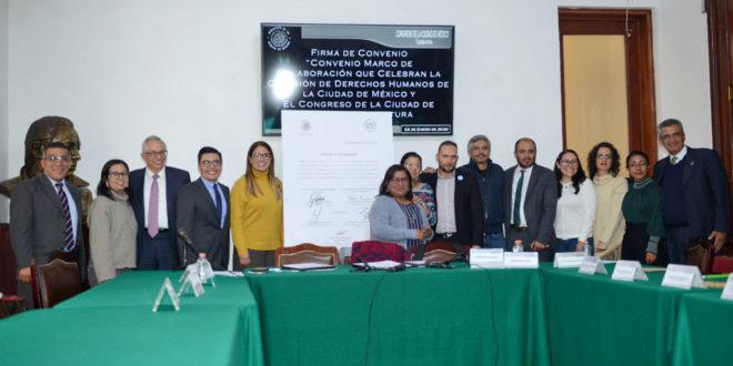 Galería: Convenio Marco de Colaboración con Congreso de la CDMX