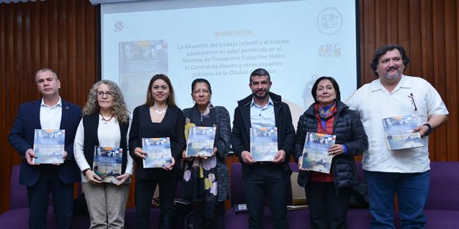 Galería: Informe La situación del trabajo infantil y adolescente en espacios públicos de la CDMX