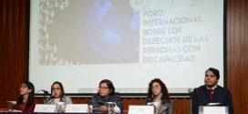 En CDHCM se desarrolla Foro Internacional sobre los Derechos de las Personas con Discapacidad