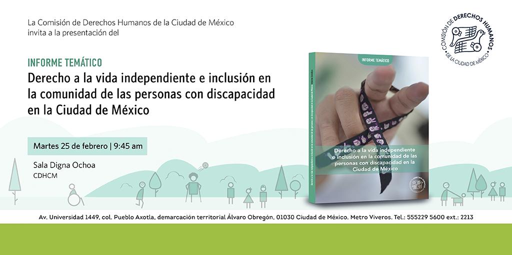 Presentación Informe Temático @ Comisión de Derechos Humanos de la Ciudad de México.