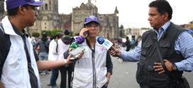 Entrevista a Nashieli Ramírez, Presidenta de CDHCM, al finalizar marcha del Día Internacional de la Mujer