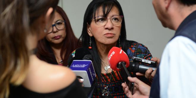 Entrevista a Ombudsperson capitalina, Nashieli Ramírez, en la Firma de Convenios Marco de Colaboración entre la CDHCM y la CEAVI CDMX.