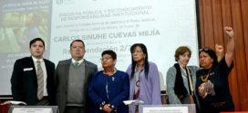 En cumplimiento a la Recomendación 2/2018, FGJ y el Poder Judicial, ambos de la Ciudad de México, ofrecen disculpa pública a víctima de violación a derechos humanos