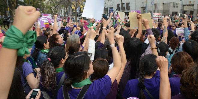 Galería: CDHCM acompañó Cadena Feminista