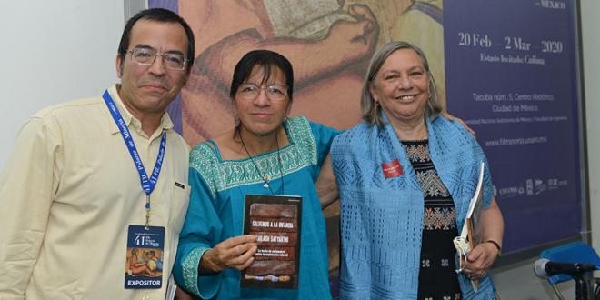 Participa Ombudsperson capitalina en presentación de obra sobre el trabajo infantil, en la 41 Feria Internacional del Libro del Palacio de Minería