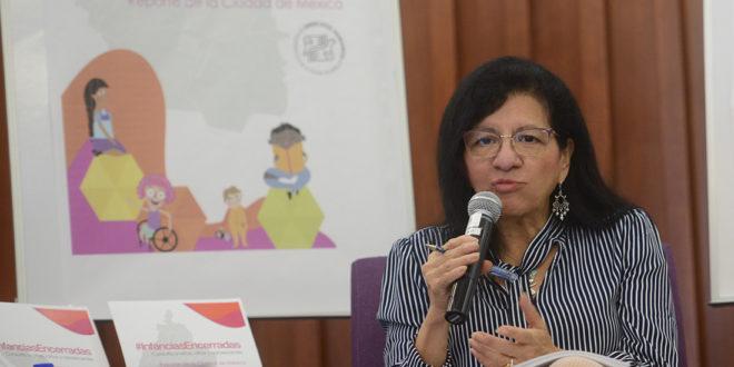 """Sesión de preguntas y respuestas, en el marco de la presentación de los resultados de la consulta """"Infancias Encerradas"""", a nivel nacional y en esta capital."""