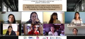Informe del Centro de Estudios Sociales y Culturales «Antonio de Montesinos» A.C. a través de su Observatorio contra la trata