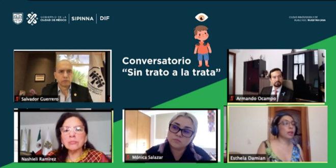 La trata de personas es una violación grave a los derechos humanos que involucra delitos: Nashieli Ramírez Hernández