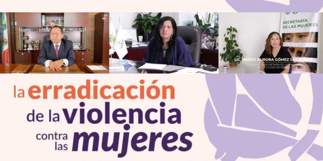 El PJCDMX comprometido con la erradicación de la violencia contra las mujeres