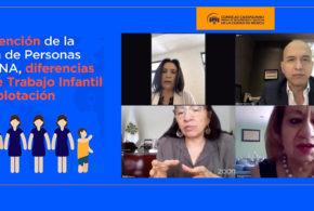 Webinar Prevención de la Trata de Personas en NNA, diferencias entre Trabajo Infantil y explotación