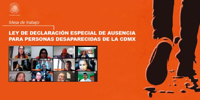 La Ley de Declaración Especial de Ausencia para Personas Desaparecidas de CDMX