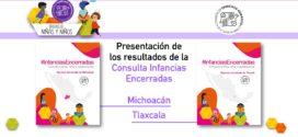 La CDHCM presenta los resultados de la Consulta Infancias Encerradas en los estados de Michoacán de Ocampo y Tlaxcala