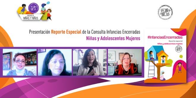 Galería: Infancias Encerradas Reporte Especial de Niñas y Adolescentes Mujeres
