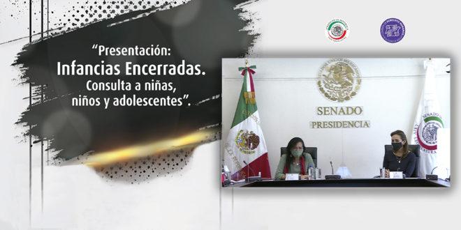 Galería: Presentación de Infancias Encerradas en el Senado
