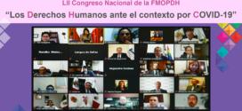 """La Federación Mexicana de Organismos Públicos de Derechos Humanos realizó su LII Congreso Nacional """"Los derechos humanos ante el contexto por COVID-19″"""
