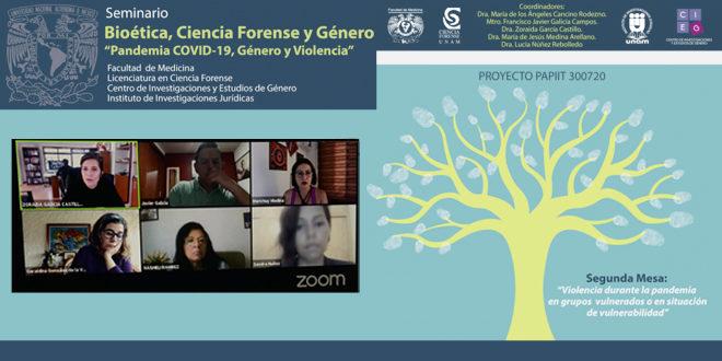 Galería Seminario Bioética, Ciencia Forense y Género «Pandemia COVID-19, Género y Violencia»
