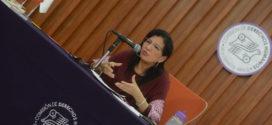Sesión de preguntas y respuestas con la Presidenta de CDHCM, Nashieli Ramírez Hernández, en la Mesa de Trabajo con la Comisión de Presupuesto y Cuenta Pública del Congreso CDMX