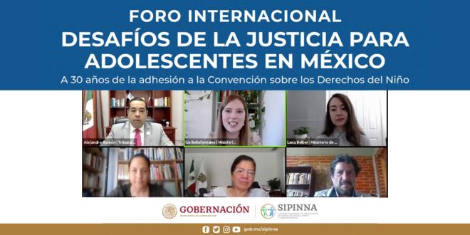 CDHCM participa en foro sobre Justicia para Adolescentes