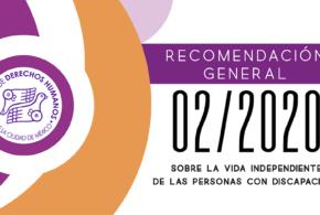 Recomendación General 02/2020