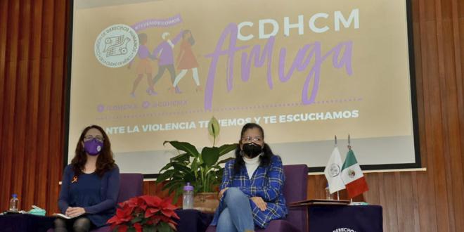 Galería: Presentación de resultados de Línea de atención telefónica #CDHCMamiga