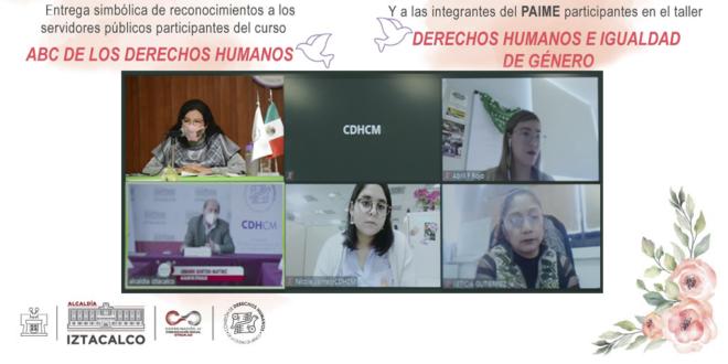 Galería: Entrega de constancias de curso de DDHH en Alcaldía Iztacalco