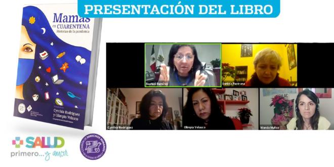 Galería: Presentación del libro «Mamás en cuarentena. Historias de la pandemia»