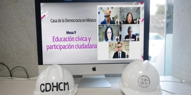 Galería: CDHCM participa en Conmemoración del 30 aniversario IFE-INE
