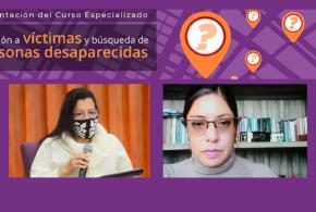 Galería: Curso Especializado Atención a Víctimas y Búsqueda de Personas Desaparecidas