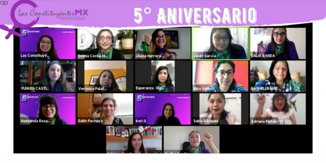 Galería: #LustroVioleta a 5 años de incidencia y participación política feminista